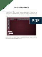Photoshop Ombre Text Effect Tutoria1.pdf