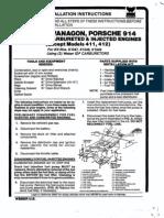 Weber 34 IDF Installation Guide