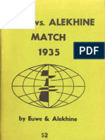 Euwe, Max &Amp; Alekhine, Alexander - Euwe vs Alekhine Match 1935