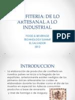 3 Confiteria de Lo Artesanal a Lo Industrial