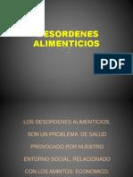 DESORDENES ALIMENTICIOS