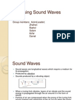 Analysing Sound Waves Ppt
