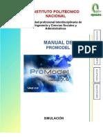 Manual Promodel Sim