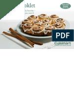 Cuisineart Recipie Booklet