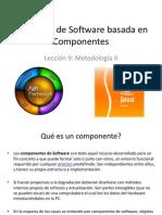 Ingeniería de Software basada en Componentes