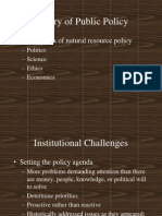 Theory of Public Policy