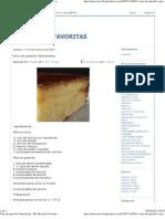 Torta de Quesillo Venezolana - Mis Recetas Favoritas