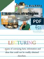 Traditional Teaching Strategies