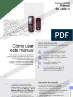 Samsung B2100 - Manual de Usuario