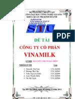 quản trị chất lượng của công ty cổ phân vinamilk