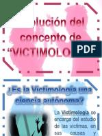 Evolución del concepto victimología