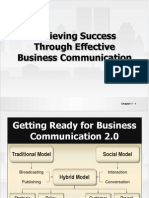 Achiving success Through Effective  Business Communication