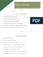 Istruzioni menù Marzo2013