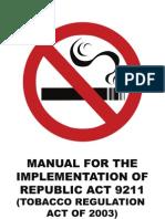 MANUAL_new r.a 9211 Tobaco Bill