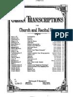 Hallellua Chorus for Organ