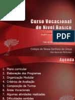 Organização pedagógica e esratégias de ensino no C.urso Vocacional Básico - Vila Nova de Milfontes