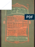 1925 Comfort for the People