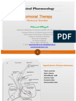 Clinical Pharmacology Hormonal Disorders