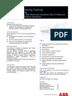 Course Description B3 Traction Standards