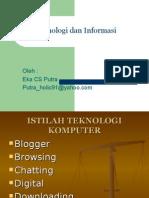 Istilah Teknologi Komputer