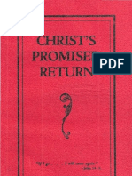1929 Christs Promised Return