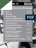 13 Precast Concrete Drainage