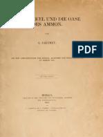 Parthey - Das Orakel Und Die Oase Des Ammon 1862