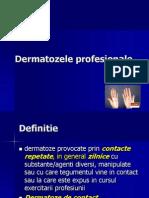 Dermatozele profesionale