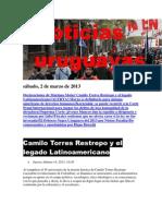 Noticias Uruguayas sábado 2 de marzo del 2013
