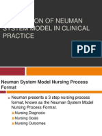 Application of Neuman System Model in Clinical Pratice - Copy