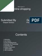 Online Shopping Presentation
