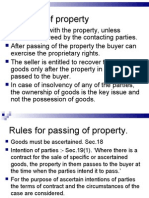 Transfer of Property