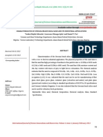 Characterizaton of Unwana Beach Silica Sand and Its Industrial Applications