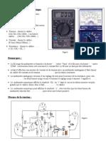 Appareils de mesure électrique