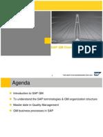 SAP QM Overview