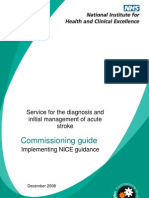 Acute Stroke Commissioning Guide