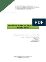 Gestion Proyectos Actividad Fisica y Salud
