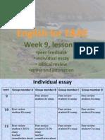 E&BE lesson 4