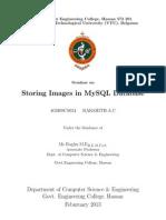 Image storing in MYSQL