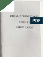 19232409 Brion Gysin Dreamachine or Dream Machine Plans