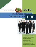 Corporate University 080110
