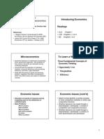 200901 Eco introduction to micro economics
