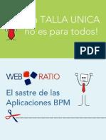 WebRatio BPM Descripcion