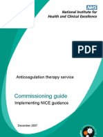 Anticoagulation Commissioning Guide