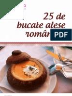 25 de Bucate Alese Romanesti
