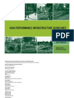 High Performance Infrastructure Guidelines