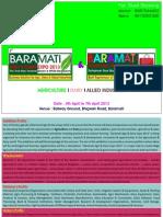 Baramati Agri & Dairy Expo 2013 - Brochure
