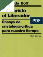 Boff, Leonardo - Jesucristo El Libertador