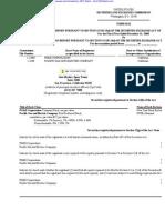 PG&E CORP 10-K (Annual Reports) 2009-02-24