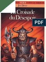 Loup Solitaire 15 - La Croisade du Désespoir